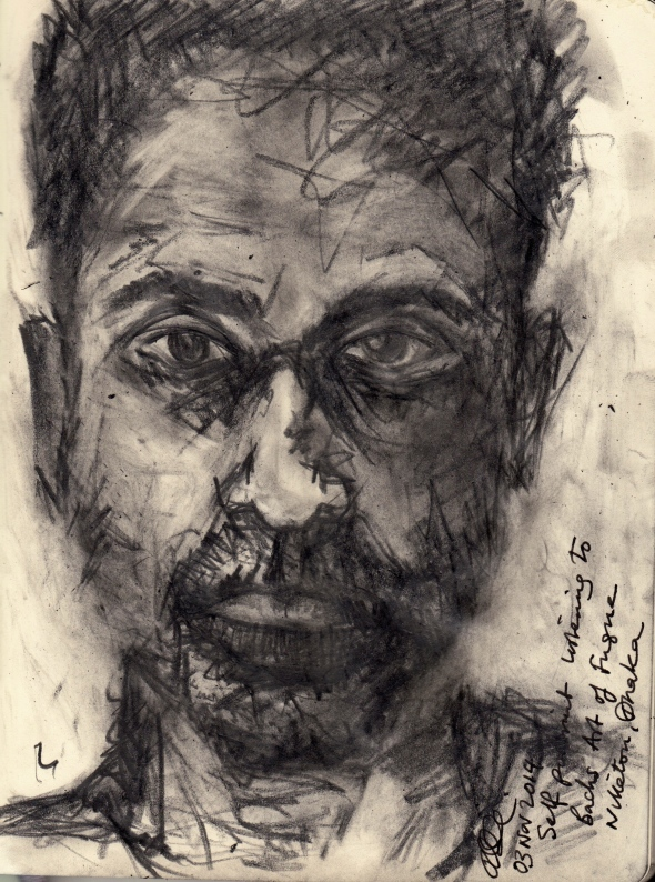 Self Portrait 3 Nov 2